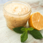 Lemon Mint Basil Sugar Scrub