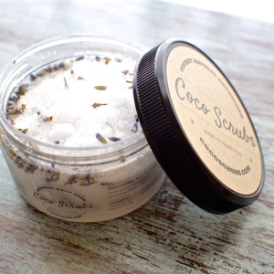 Lavender Vanilla Calming Bath Salts