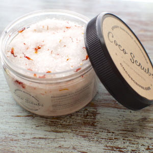 Saffron and Citrus Energizing Bath Salts